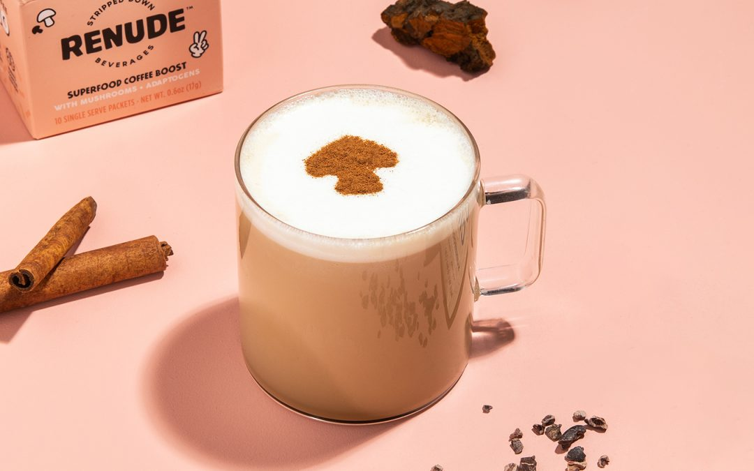 Warm Up with this Hot Chagaccino recipe